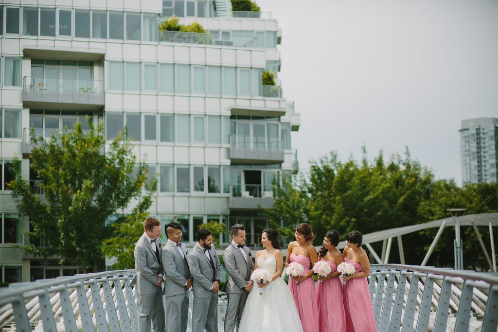 Olympic Village Wedding Party