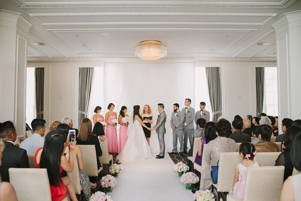 Hotel Georgia Vancouver Wedding Ceremony