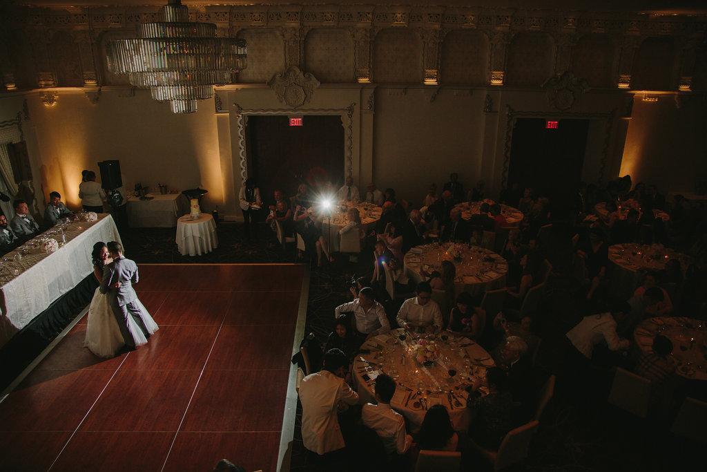 Hotel Georgia Wedding First Dance