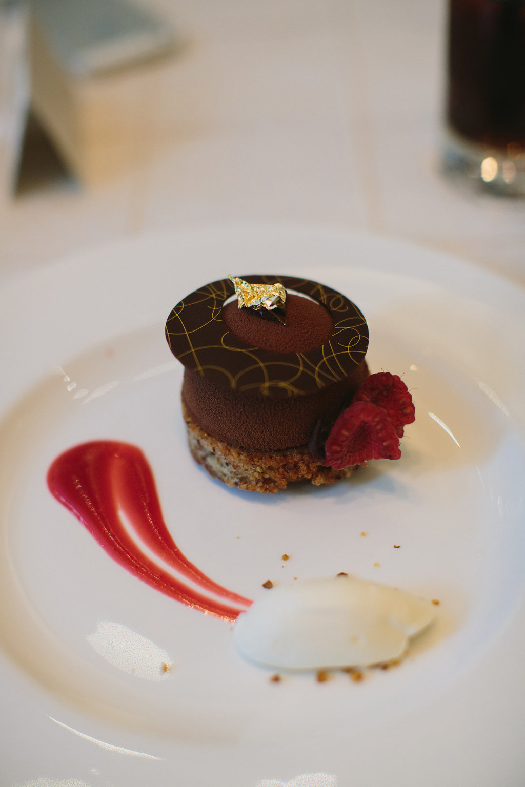 Hotel Georgia Wedding Dessert