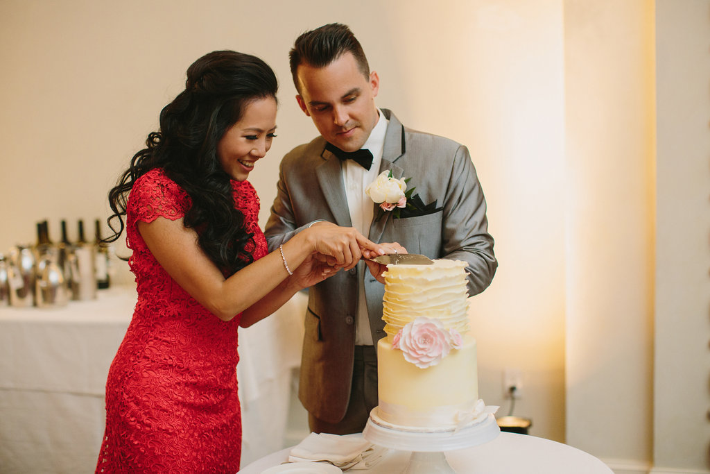 Vancouver Wedding Cake Cutting
