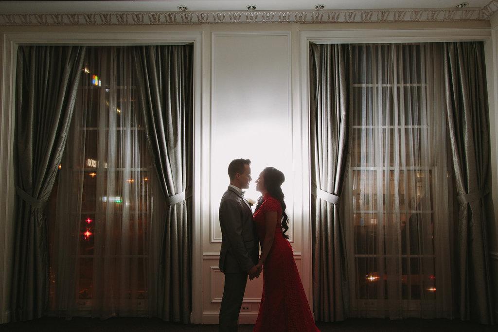 Hotel Georgia Romantic Wedding