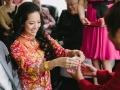 Vancouver Bride at Tea Ceremony