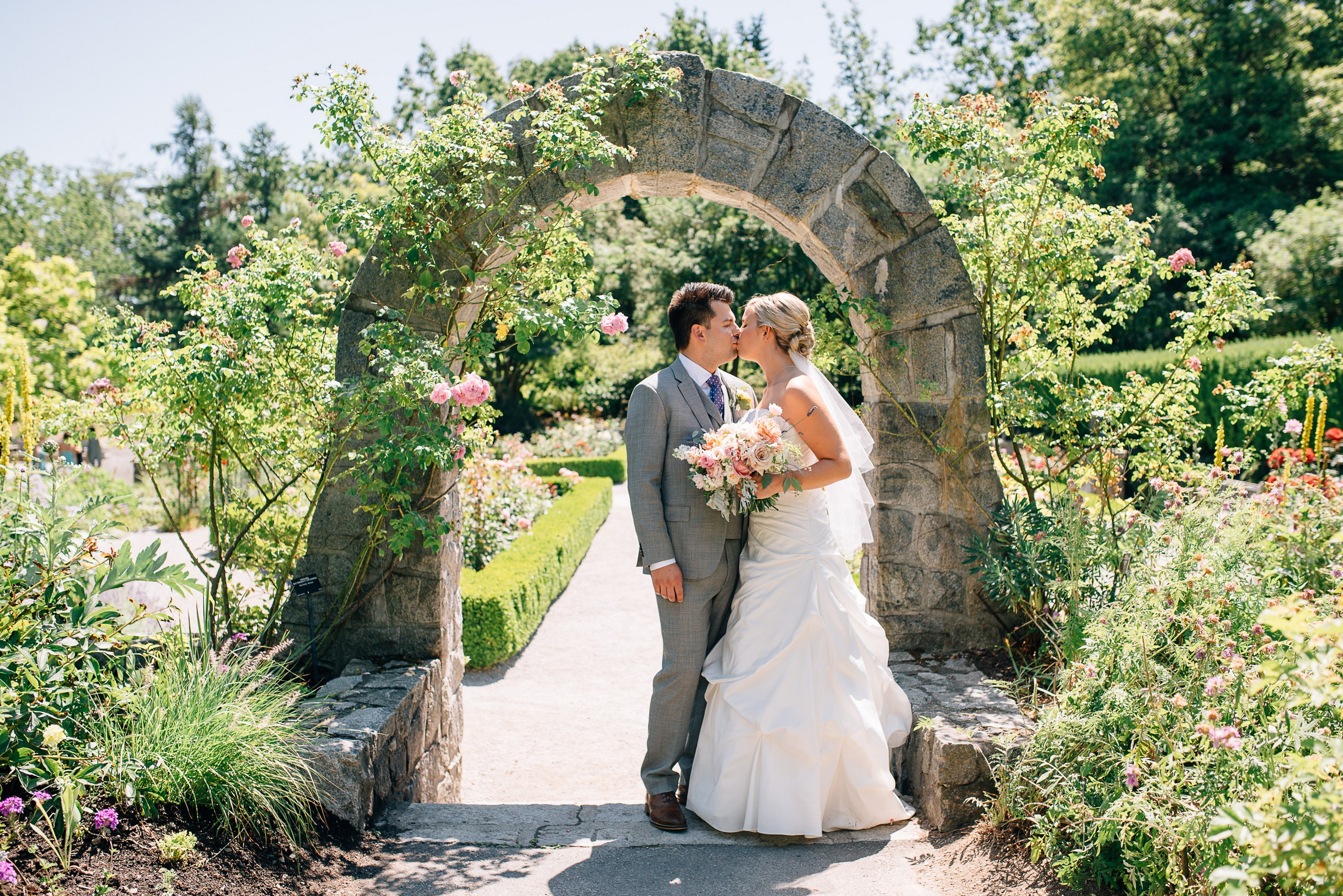 Van Dusen Gardens Wedding