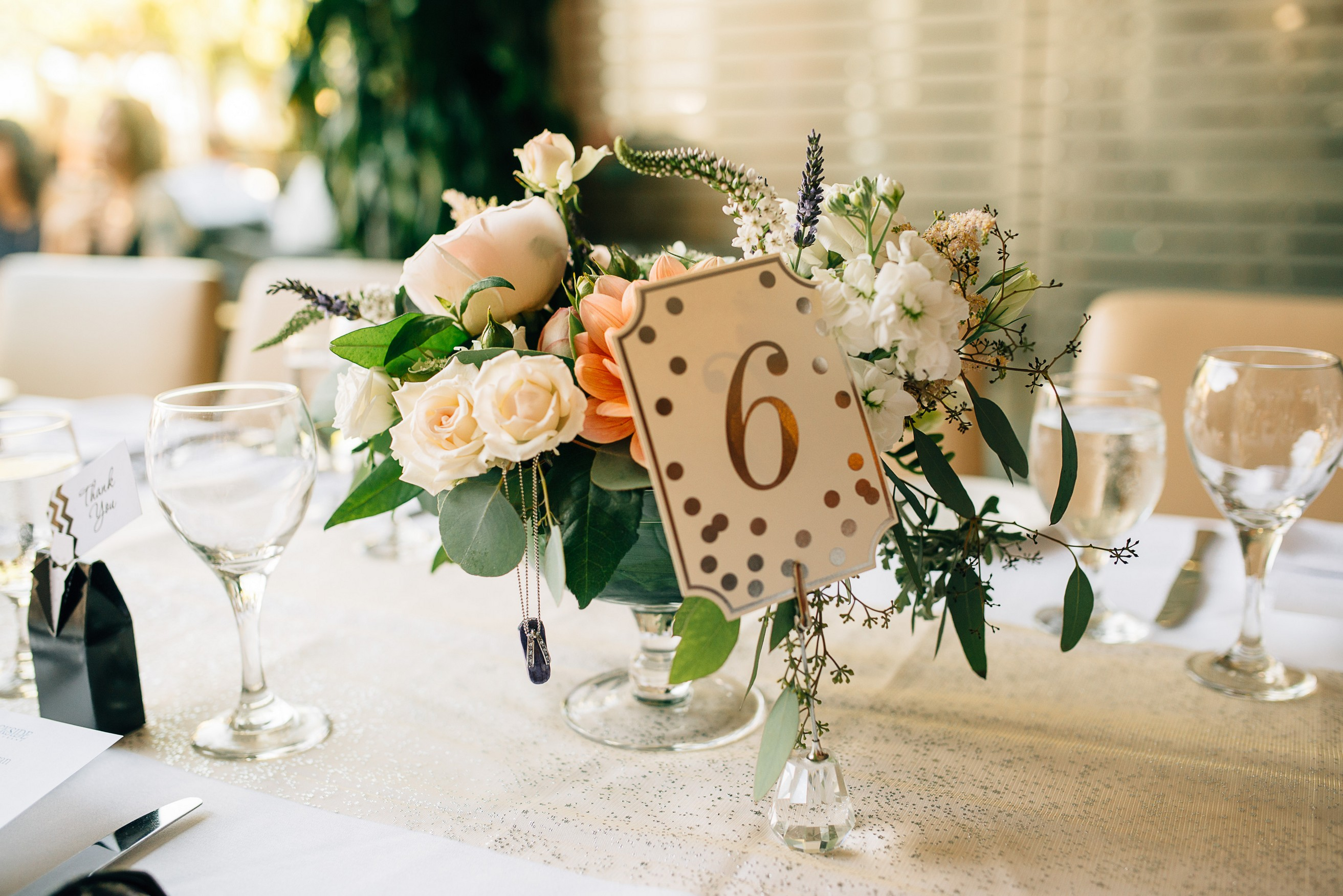 Dockside Restaurant Wedding Decor