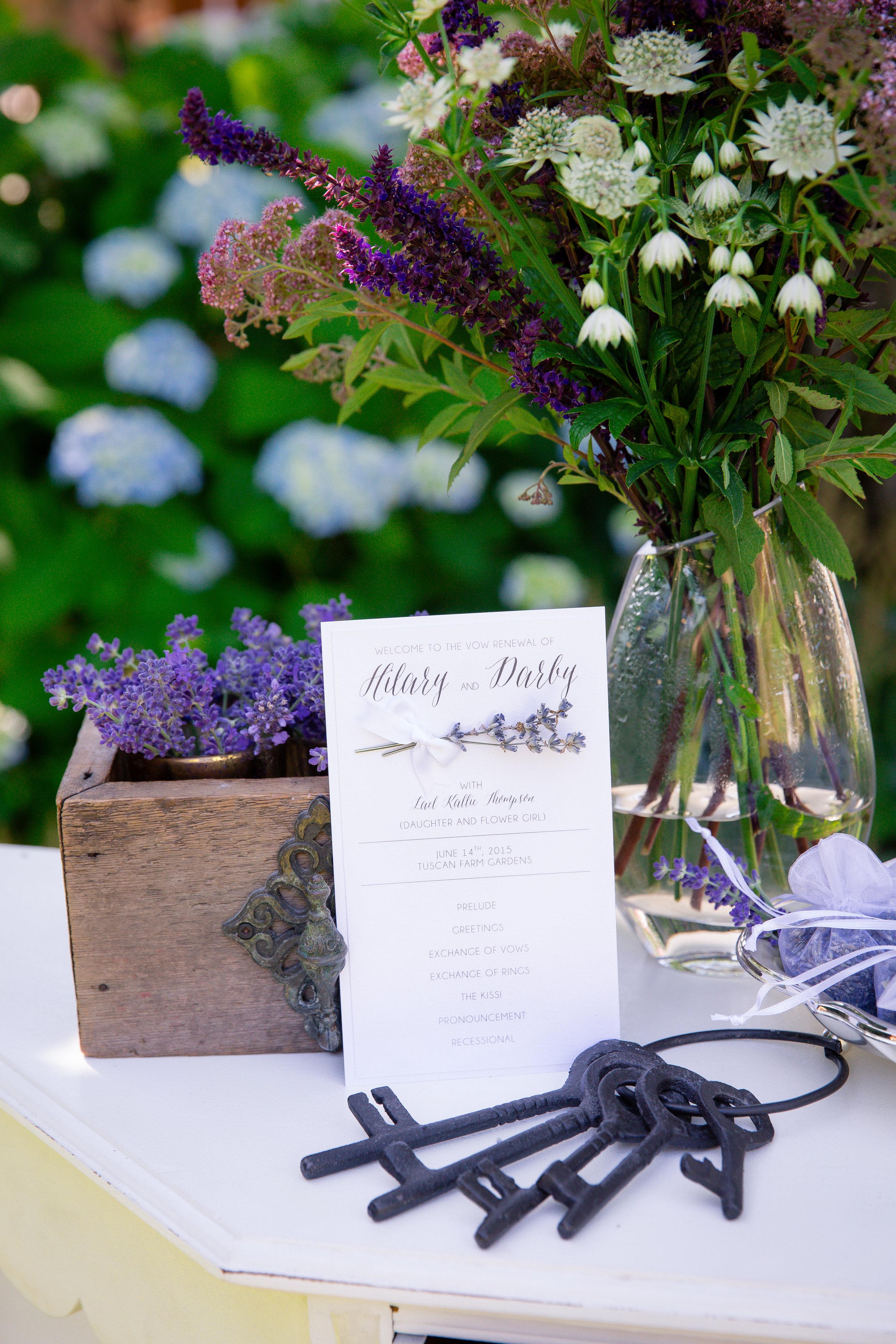 Lavender Vow Renewal 6